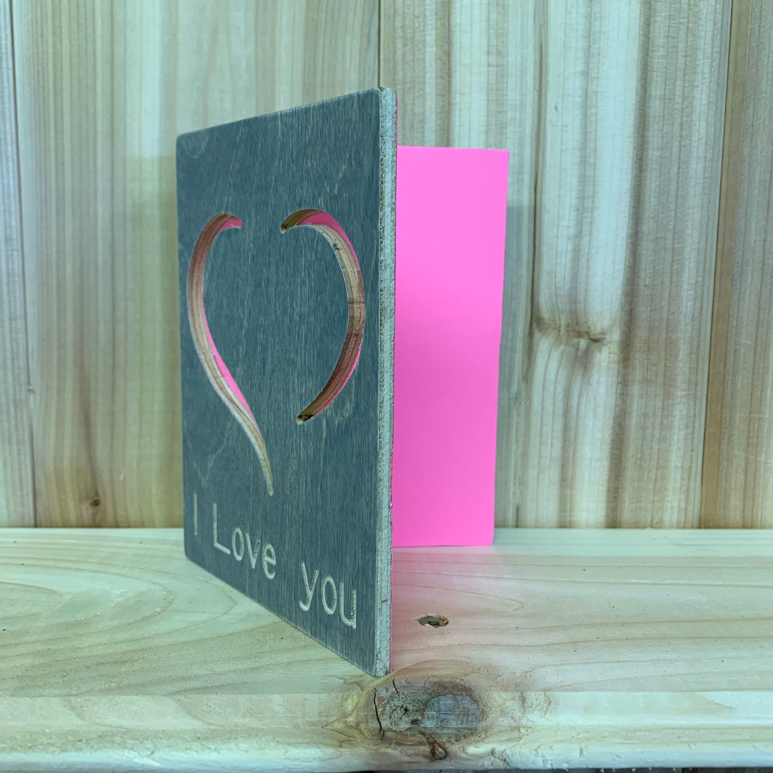 Wood I Love You Card