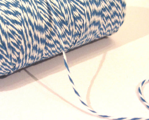 Denim - Blue & White Eco-Luxe Baker's Twine