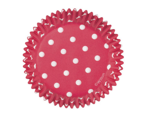 Red Polka Dot Cupcake Liners- Pack of 75