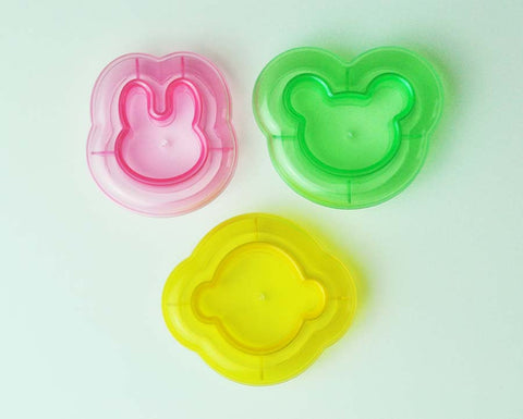 Bento Rice Shaper, Sandwich Bread Cutter or Cookie Cutter Furikake Guide