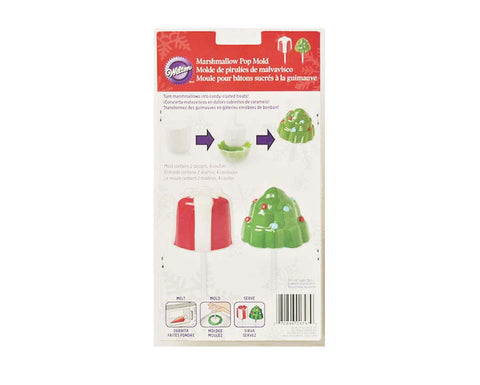 Christmas Tree & Present Christmas Themed Marshmallow Mold- By Wilton