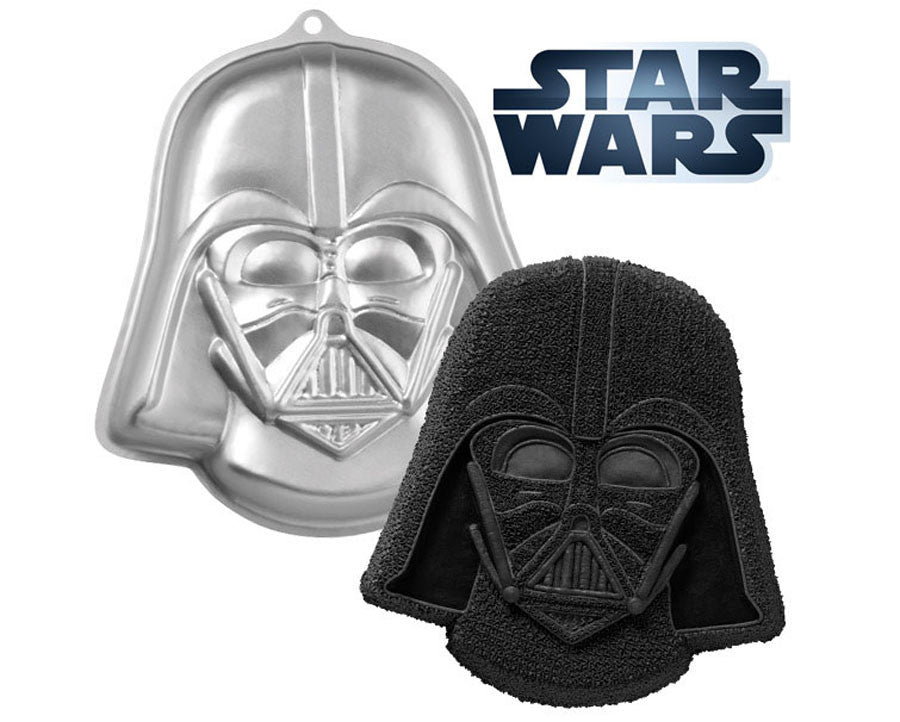 star wars cake pan darth vader wars cake pan by wilton browncookie 7674