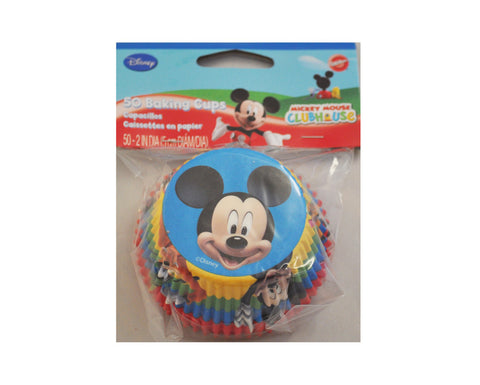 Disney Mickey Mouse Cupcake Baking Liners