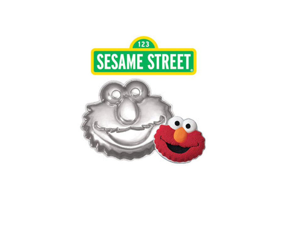 Elmo Cake Pan Instructions