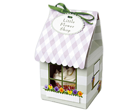 Flower Shop Small Cake Box, Set of 4 by Meri Meri