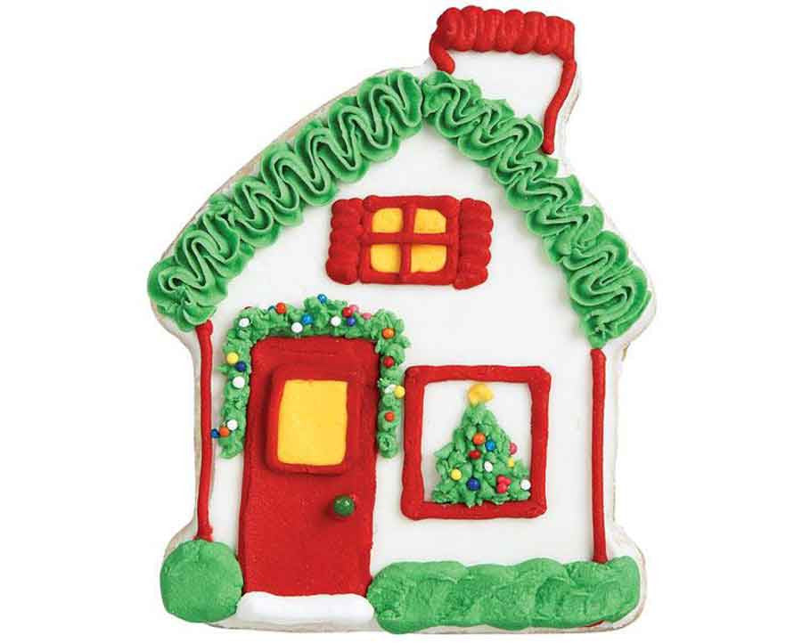 Gingerbread House Cookie Cutter With Comfort Grip By Wilton