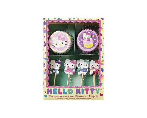 Hello Kitty Cupcake Kit by Meri Meri