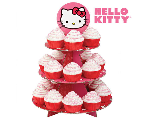 Hello Kitty Cupcake Stand, Hello Kitty Treat Stand by Wilton