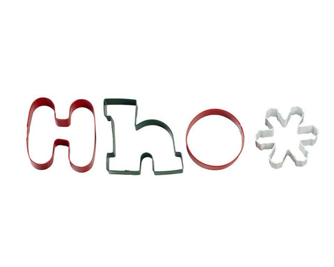 Ho Ho Cookie Cutters By Wilton