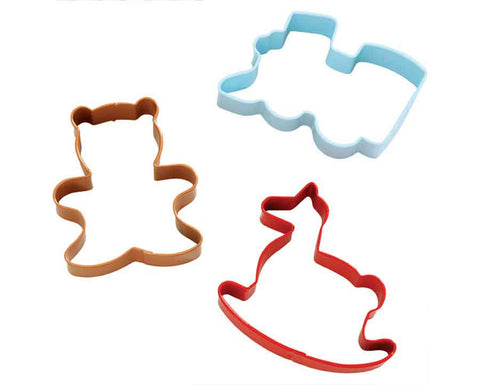 Homemade for the Holidays 3 Piece Cookie Cutter Set by Wilton