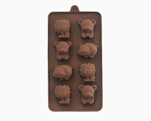 Happy Safari Chocolate Mold