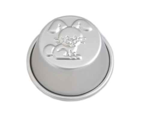 Rabbit Shaped Muffin Pan, Commercial Grade
