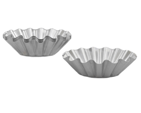 Aluminum Tart Pans, Set of 6