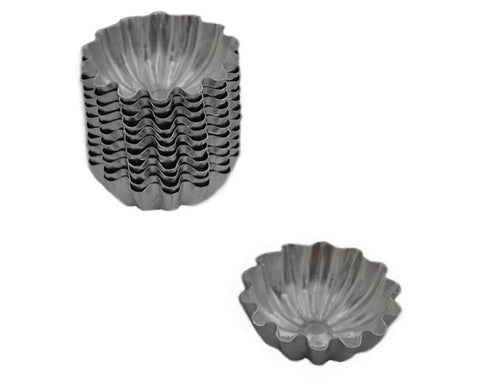 Mini Bite Sized Cupcake Baking Pans, Set of 12