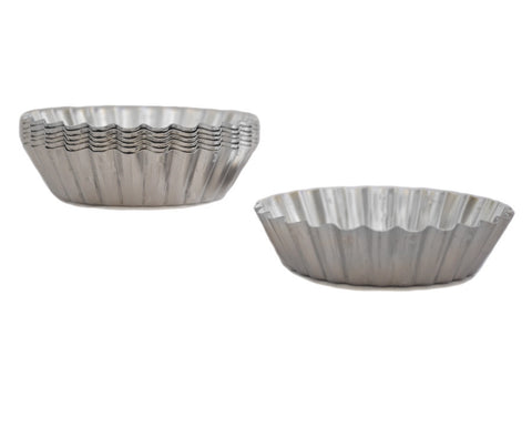 Fluted French Tart Quiche Pan, Set of 6
