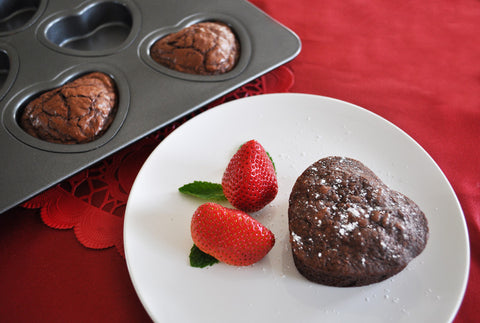 Heart Shaped Cupcake & Muffin Pan, Non-Stick