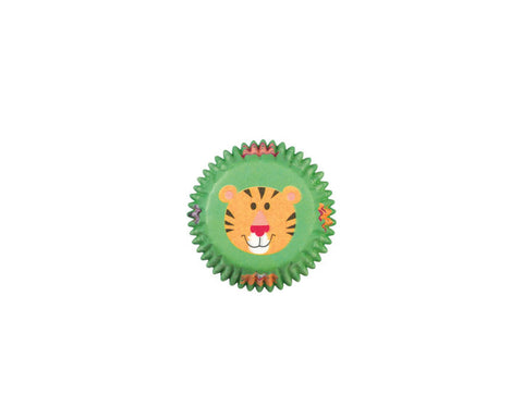 Jungle Pals Themed Cupcake Liners (Mini Size) by Wilton