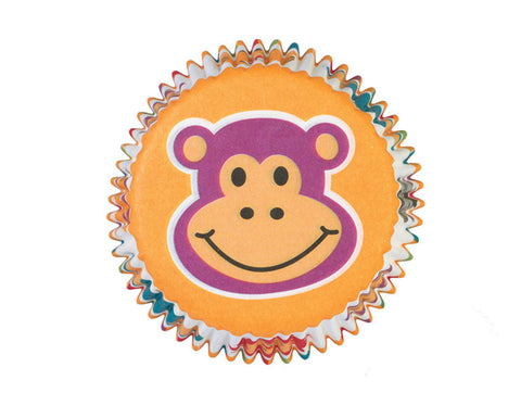Jungle Pals Themed Cupcake Liners (Standard Size) by Wilton