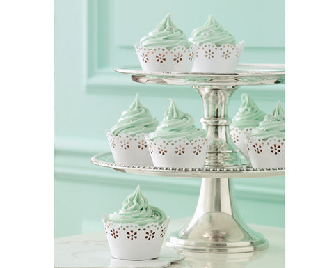 Lace Cupcake Wrappers by Martha Stewart Crafts