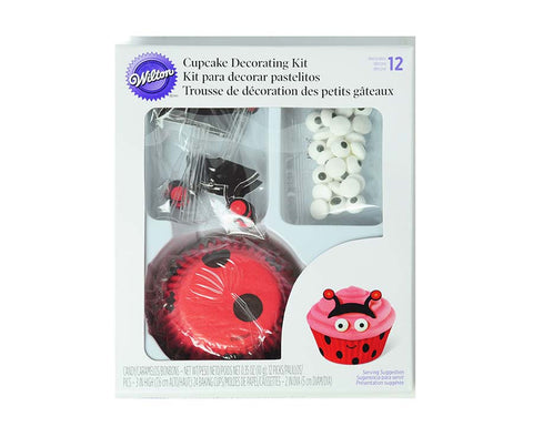 Lady Bug Cupcake Decorating Kit