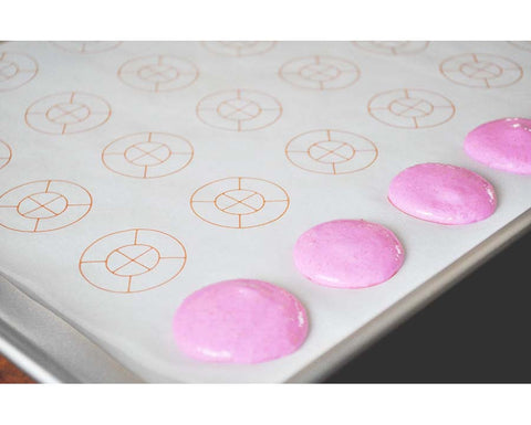 MacShapes- Pre-printed Parchment Paper for Piping Macarons