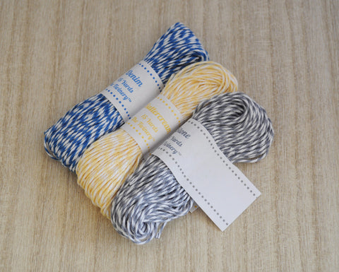 Mini Sampler - Denim, Buttercream & Stone