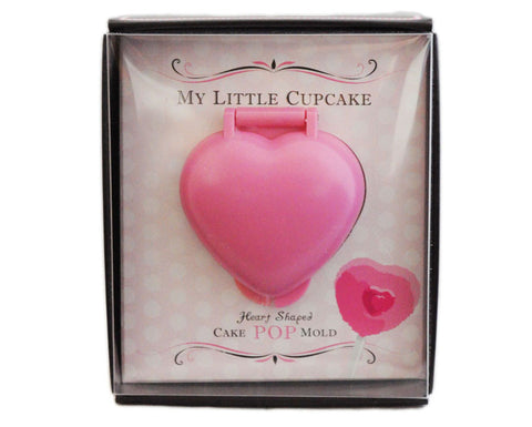 My Little Cupcake Pop Mold Heart