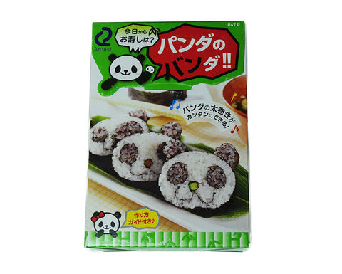 Panda Sushi Maki Roll Maker Set