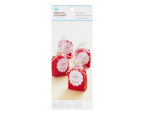 Polka Dot Cello Treat Bag by Martha Stewart Crafts