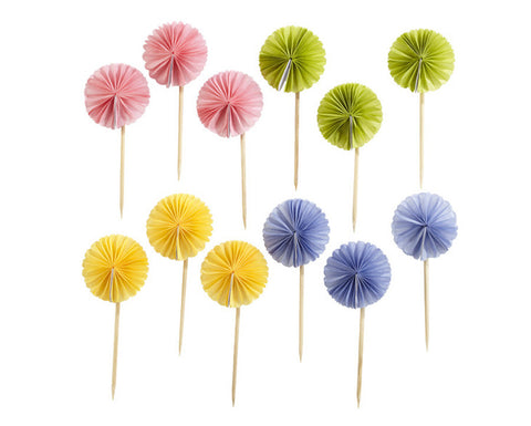 Pom Pom Food Picks by Martha Stewart Crafts