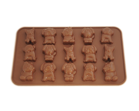 Puppy Dog Chocolate Mold