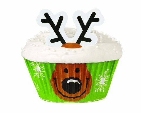 Reindeer Cupcake Decorating Kit– By Wilton
