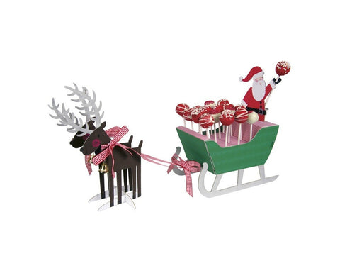 Santa & Christmas Cake Pop Stand by Meri Meri