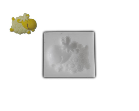 Silicone Rubber Chocolate & Candy Mold- Joyful Sheep