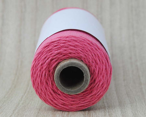 Solid Strawberry- Pinkish Coral Baker's Twine by The Twinery