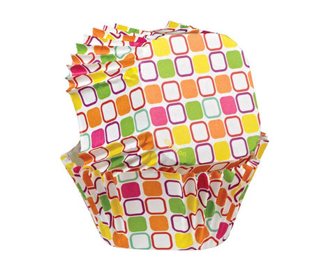 Square Cupcake Liners