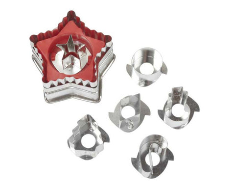 Star Christmas Linzer Cookie Cutter Set by Wilton