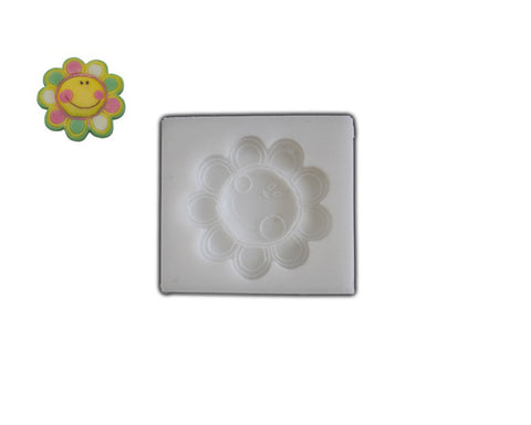 Silicone Rubber Chocolate & Candy Mold- Sunflower