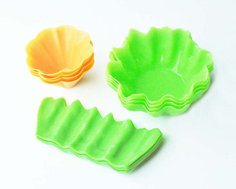 Vegetable Shaped Bento Cups– Set of 12