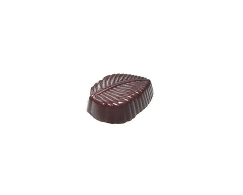 Professional Polycarbonate Chocolate & Candy Mold-Veined Leaf