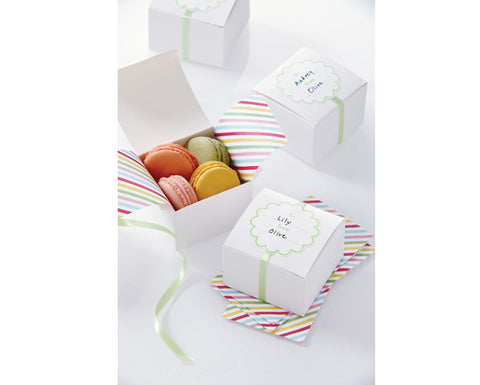 White Treat Box by Martha Stewart Crafts