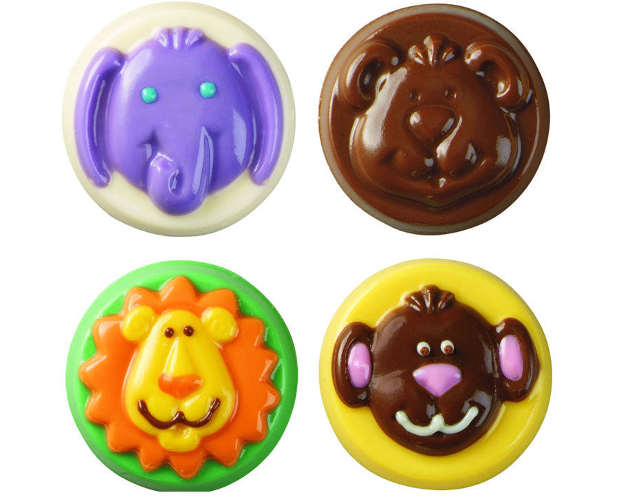 Animals Cookie Candy Molds By Wilton Browncookie Com
