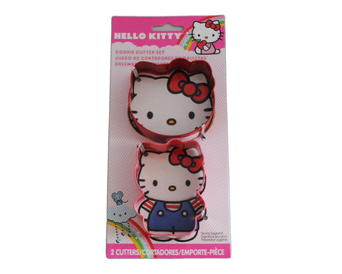 Hello Kitty Cookie Cutters- Set of 2 Pieces By Wilton