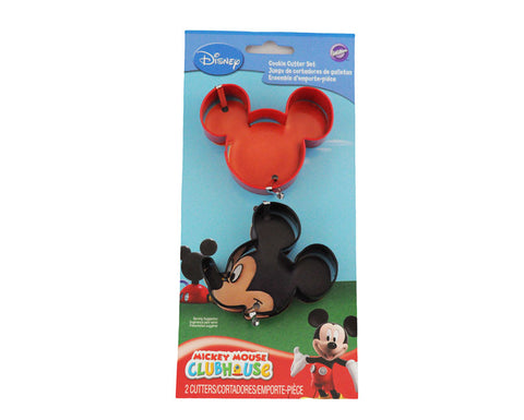 Mickey Mouse Cookie Cutter Set- 2 Pieces by Wilton