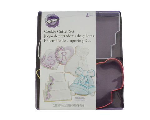 Wedding Cookie Cutters by Wilton