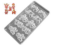 Holiday Chocolate Molds & Candy Molds