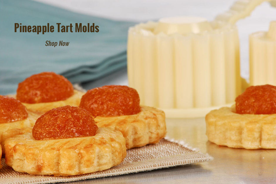 Pineapple Tart Molds at Browncookie