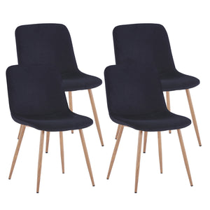 Haden 4pc Dining Chairs (Black)
