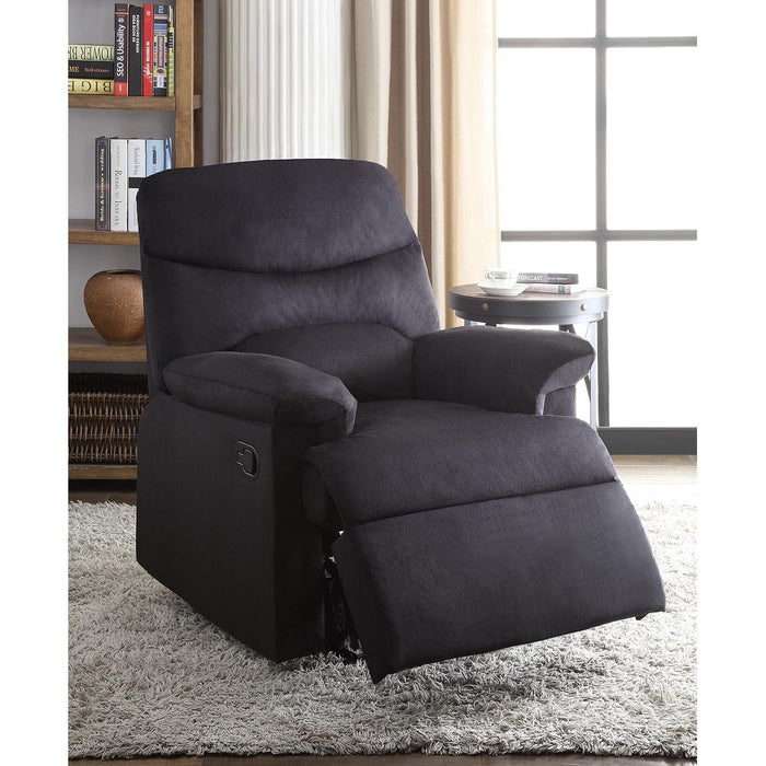 Arcadia Recliner (Motion, Black)