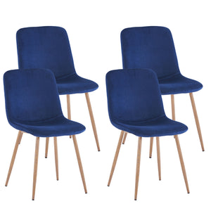 Haden Dining Chairs (Blue)